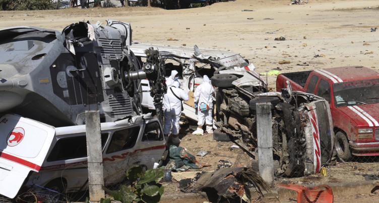 Un village mexicain sous le choc après l'accident d'hélicoptère