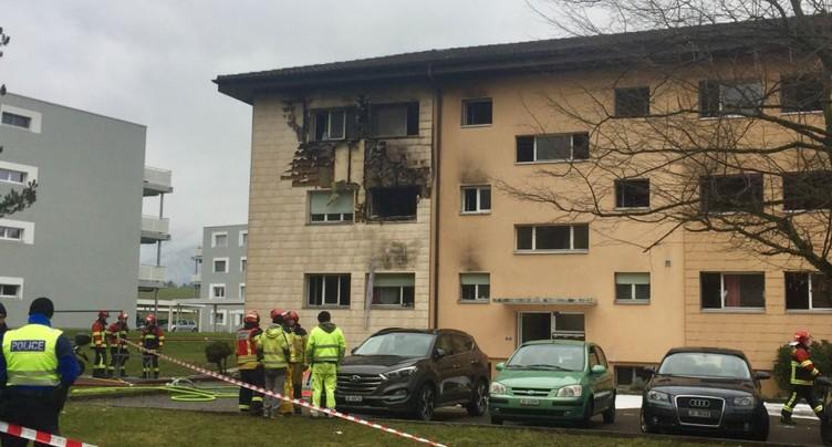 Explosion et incendie mortel dans une cuisine à Delémont