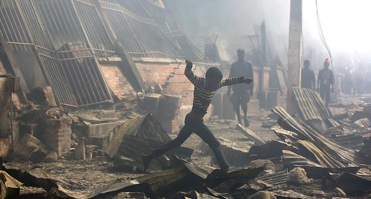 Deuxième incendie de marché dans la capitale haïtienne