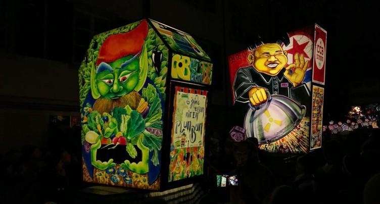 Le traditionnel « Morgestraich » a lancé les festivités à 04h00