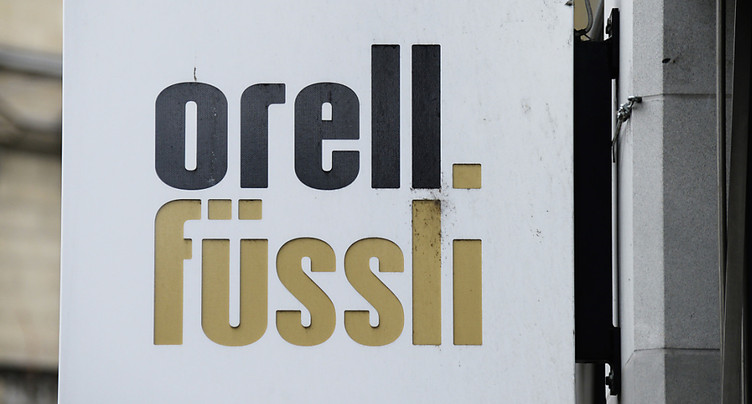Orell Füssli plombé par un correctif de valeur