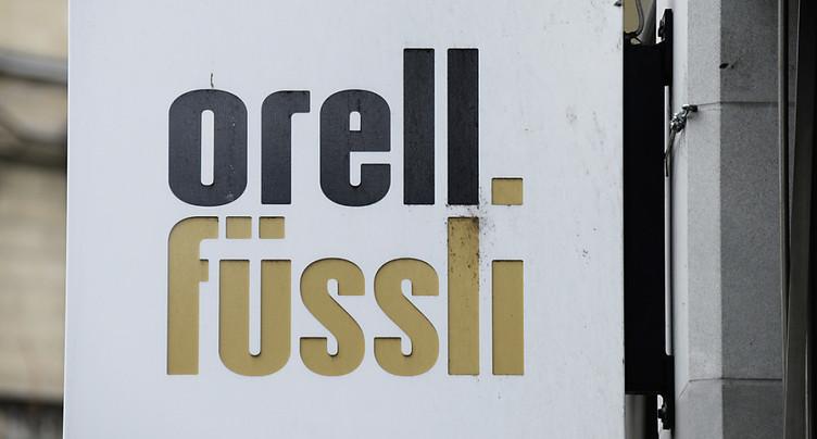Orell Füssli plombé par un correctif de valeur
