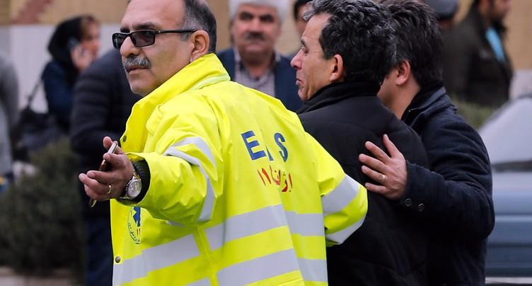 L'épave de l'avion qui s'est écrasé en Iran a été retrouvée