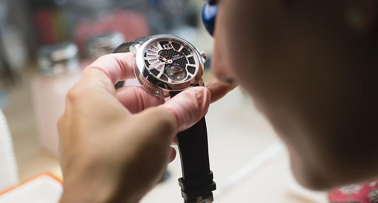 Les exportations horlogères démarrent bien l'année