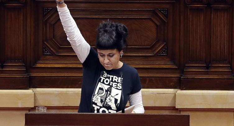Indépendantiste catalane en Suisse: « Je n'irai pas à mon procès »