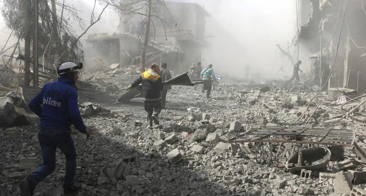 Au moins 45 civils tués dans de nouvelles frappes du régime près de Damas