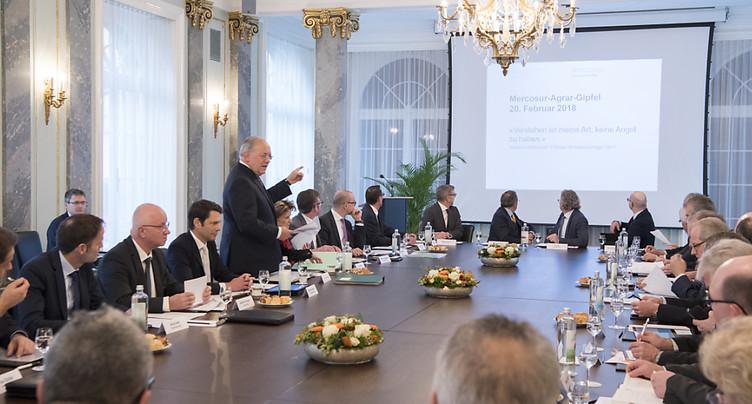 Johann Schneider-Ammann veut accélérer l'accord avec le Mercosur