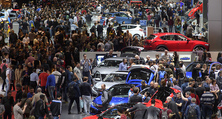 180 exposants attendent 700'000 visiteurs au 88e Salon de l'auto