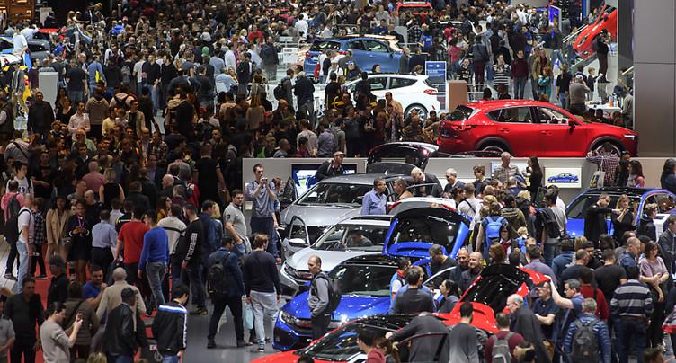 180 exposants attendent 700'000 visiteurs au 88e Salon de l'auto