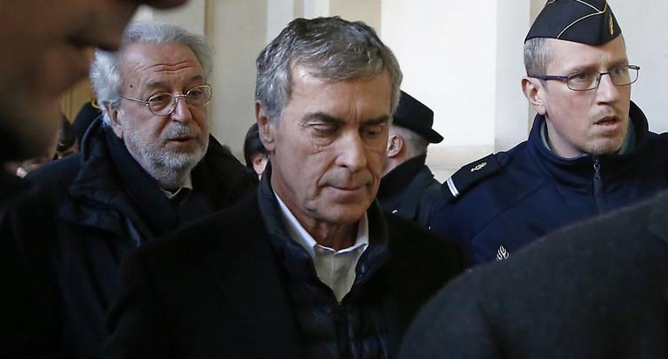 Pour le parquet, la place de Jérôme Cahuzac est en prison