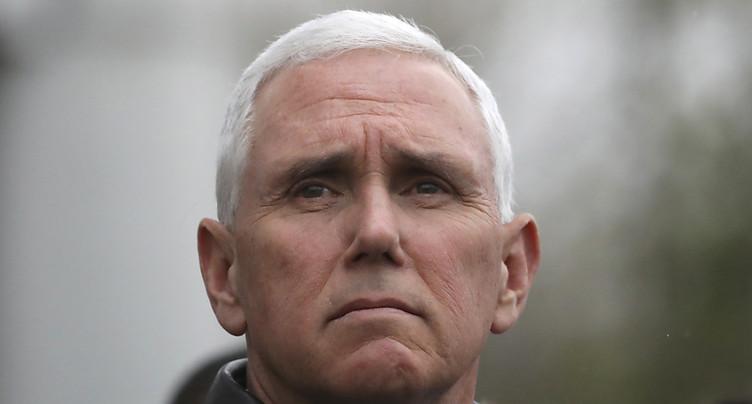 Les Nord-Coréens ont annulé une rencontre avec Mike Pence