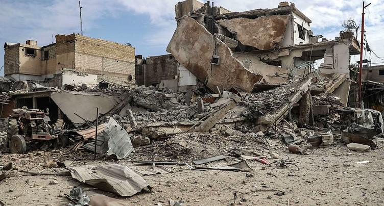 Damas s'acharne contre la Ghouta orientale, l'ONU très inquiète