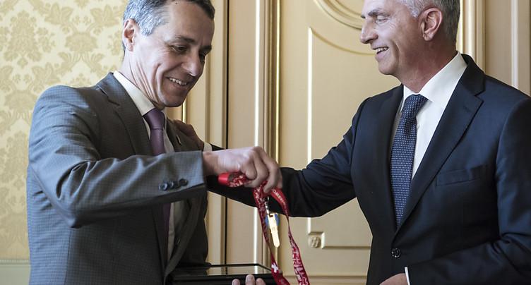 Bilan mitigé de la politique extérieure suisse 2017