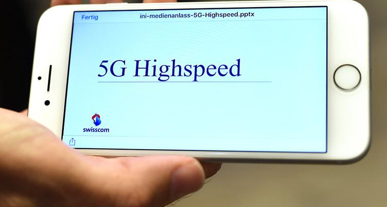 Swisscom veut lancer le réseau mobile 5G à partir de 2018