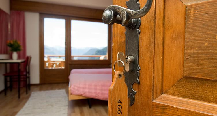 L'hôtellerie suisse proche de ses années record en 2017