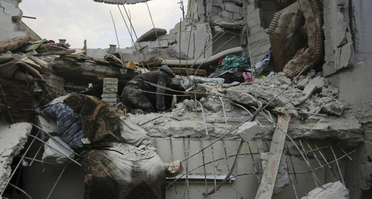 Les bombes du régime syrien tuent 400 civils en cinq jours