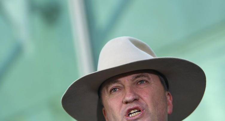 Démission du vice-premier ministre Barnaby Joyce