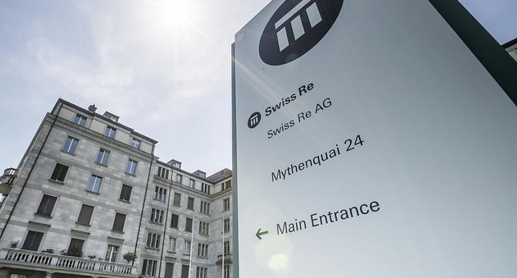 Swiss Re dégage 331 millions de dollars de bénéfices en 2017