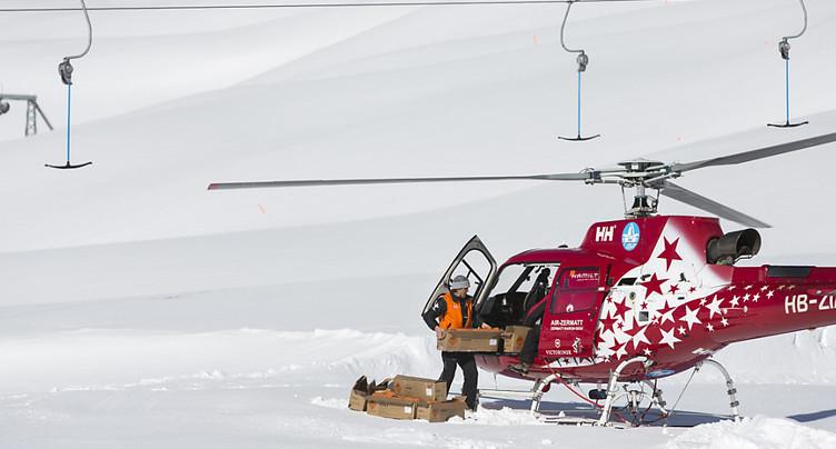 Quatre randonneurs emportés par une avalanche à Arolla (VS)