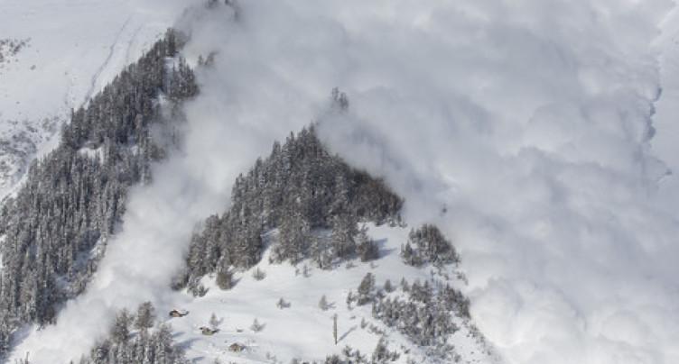 Décès d'un homme emporté par une avalanche près de Gstaad (BE)