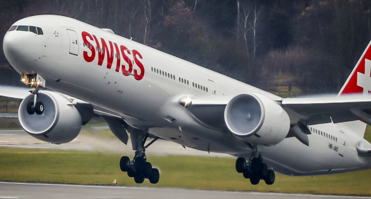 Nette hausse du bénéfice d'exploitation pour Swiss