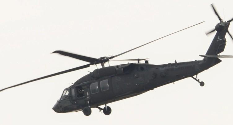 Un hélicoptère américain s'écrase en Irak, annonce Washington