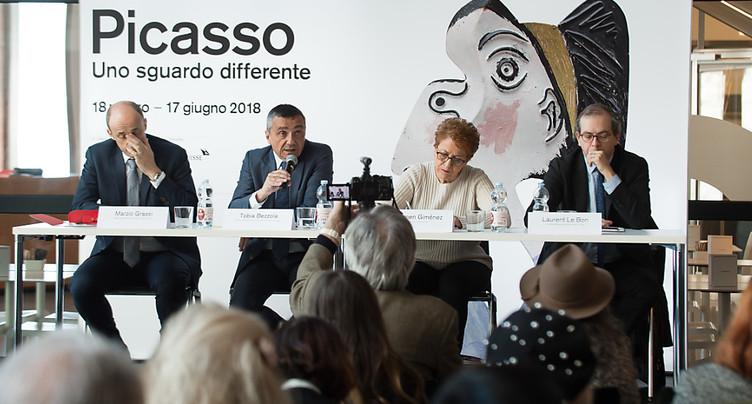 Le MASI de Lugano présente des oeuvres inédites de Picasso