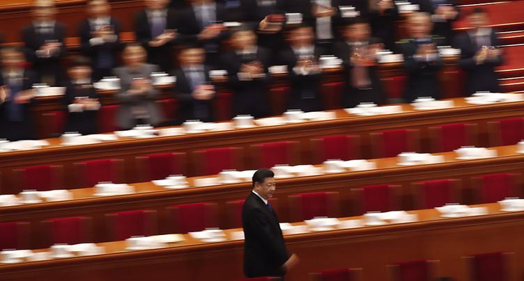 Xi Jinping réélu à l'unanimité pour un nouveau mandat de 5 ans