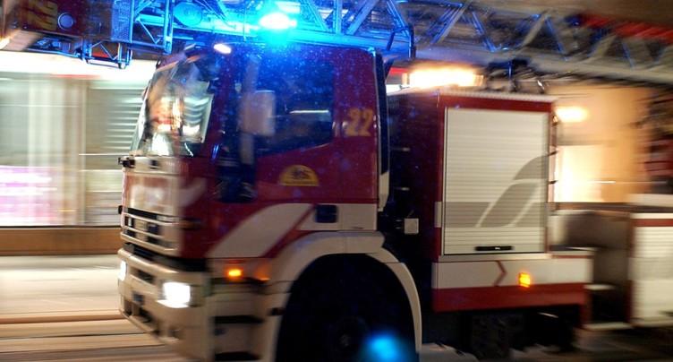 Un important incendie dévaste un entrepôt de fruits à Egnach (TG)