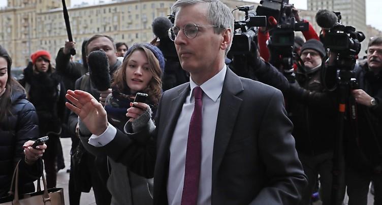 L'ambassadeur britannique convoqué par Moscou