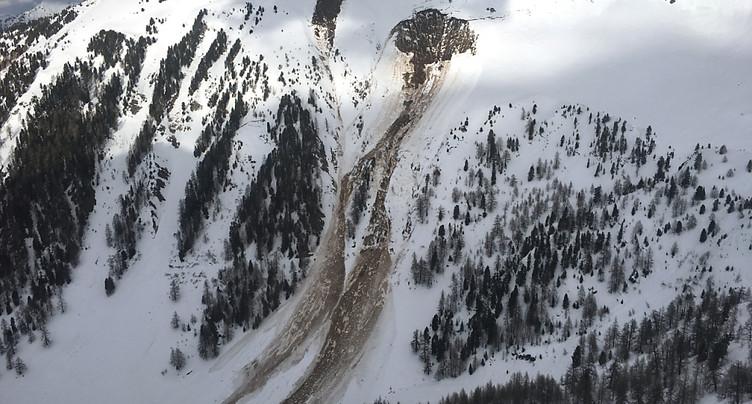 Avalanche de Riddes (VS): un corps retrouvé