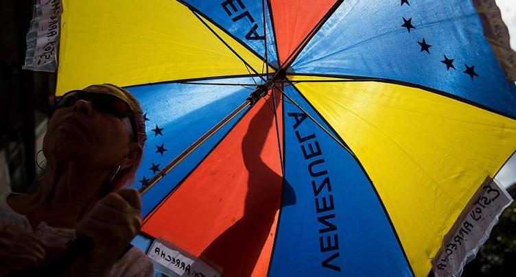Manifestations de l'opposition contre la présidentielle anticipée prévue au Venezuela