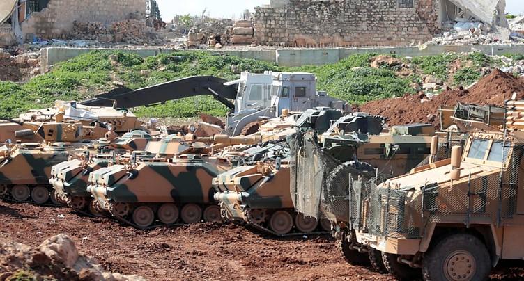 Erdogan affirme que le centre-ville d'Afrine est sous contrôle