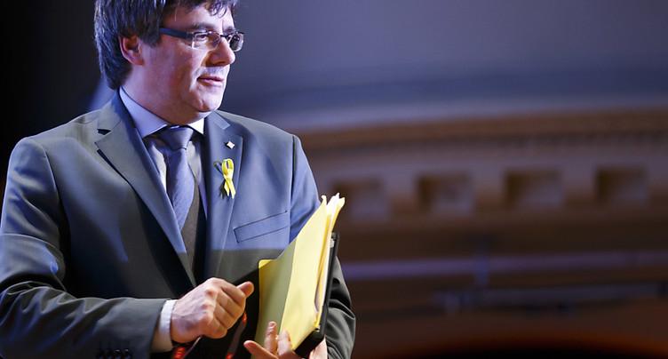 Carles Puigdemont fait salle comble au FIFDH à Genève