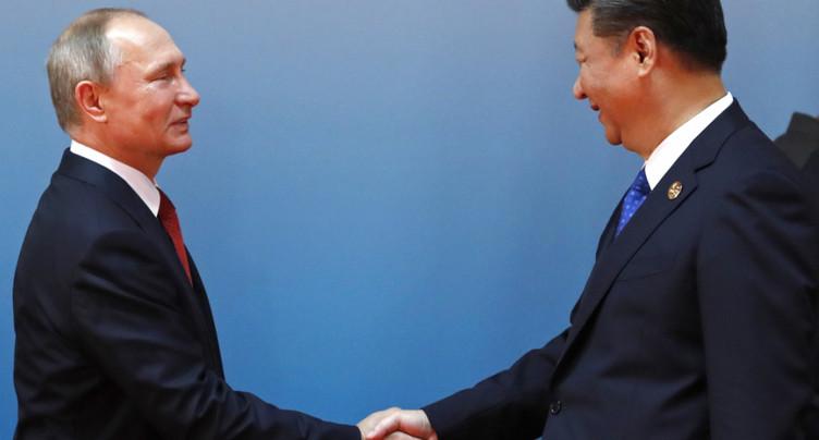 Le président chinois félicite Vladimir Poutine et salue une relation sino-russe à son zénith