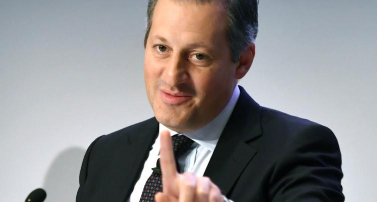 Salaire en baisse pour Boris Collardi, ex-patron de Julius Baer