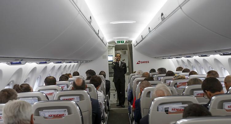 Un passager d'avion contagieux contamine ses voisins immédiats