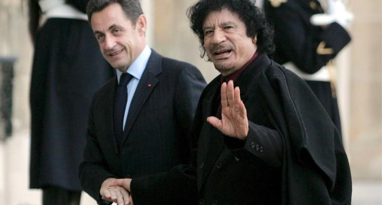 Nicolas Sarkozy présenté aux juges pour le dossier libyen de 2007