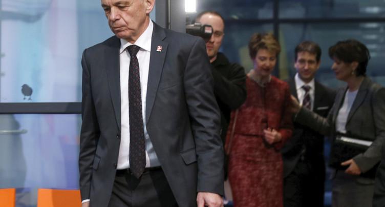 Ueli Maurer relance la réforme de la fiscalité des entreprises