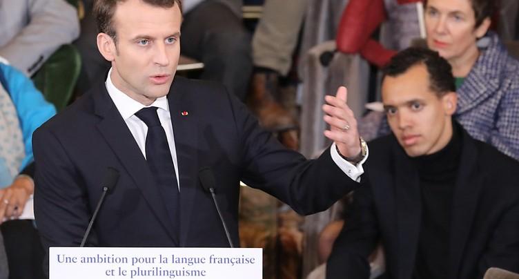 Mobilisation sociale: un test pour le président français