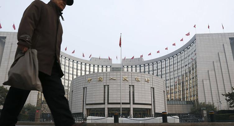 Chine: la banque centrale relève un taux d'intérêt à court terme