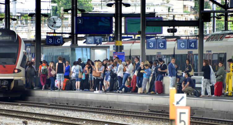 Peine confirmée pour le violeur du Lausanne-Vallorbe