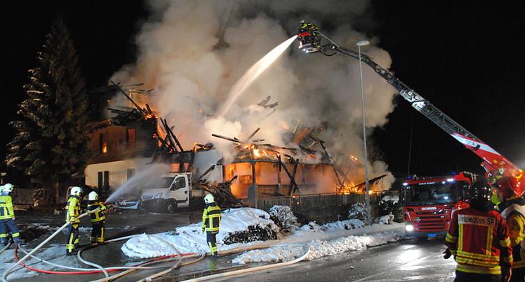 Deux hommes reconnus coupables pour l'incendie de l'hôtel Kaiseregg