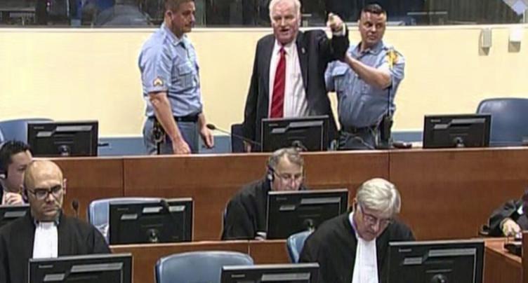 Ratko Mladic fait appel de sa condamnation pour crimes de guerre