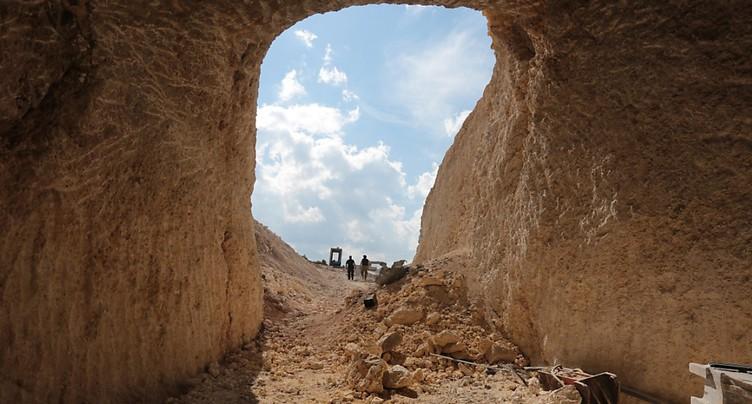 Un site chrétien inscrit à l'Unesco endommagé par des raids turcs
