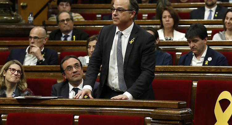 Catalogne: Jordi Turull échoue pour la présidence