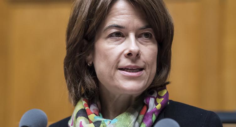 Gössi veut faire du PLR le deuxième parti de Suisse en 2019