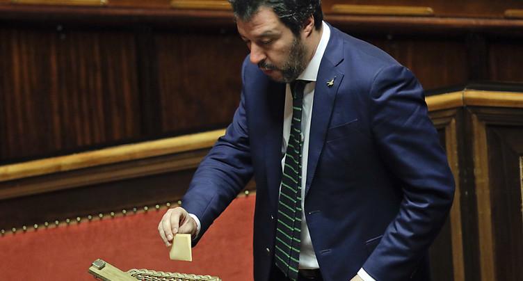 Election des présidents du Parlement: Salvini joue son va-tout
