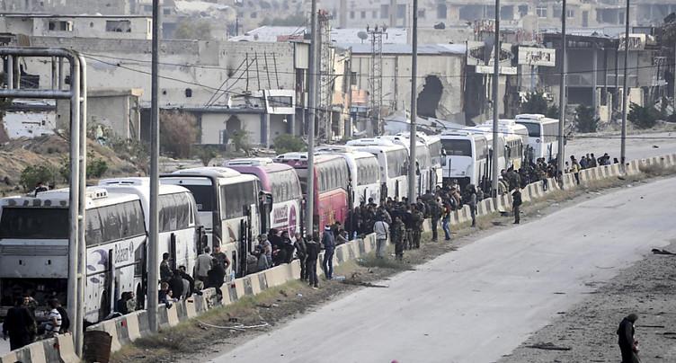 Le régime contrôle la quasi-totalité de la Ghouta orientale