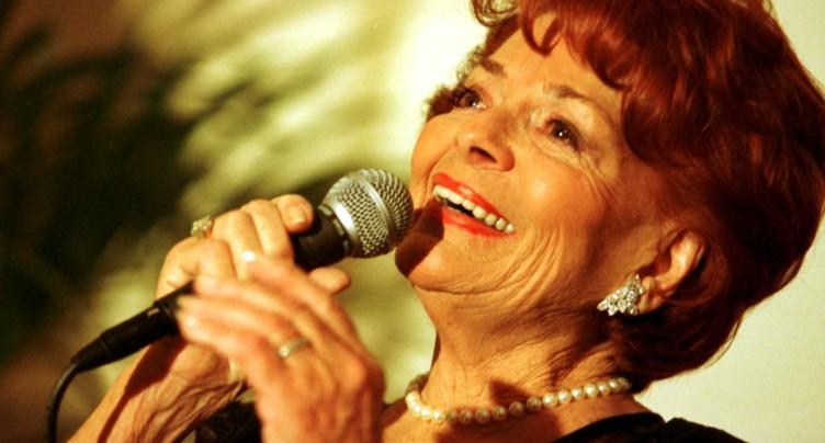 Gagnante de l'Eurovision pour la Suisse, Lys Assia est décédée